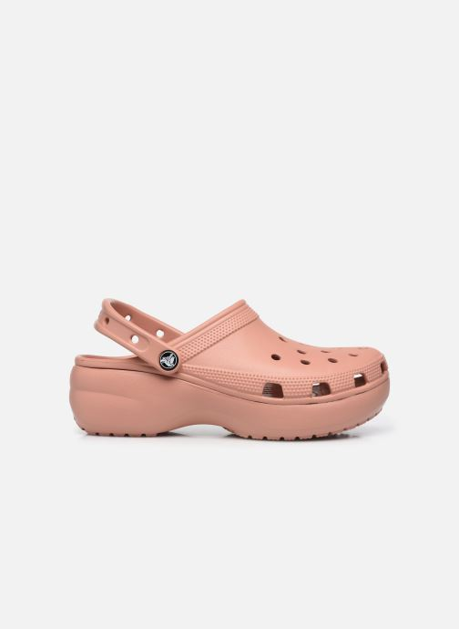 Clogs & Pantoletten Crocs Classic Platform Clog W rosa ansicht von hinten