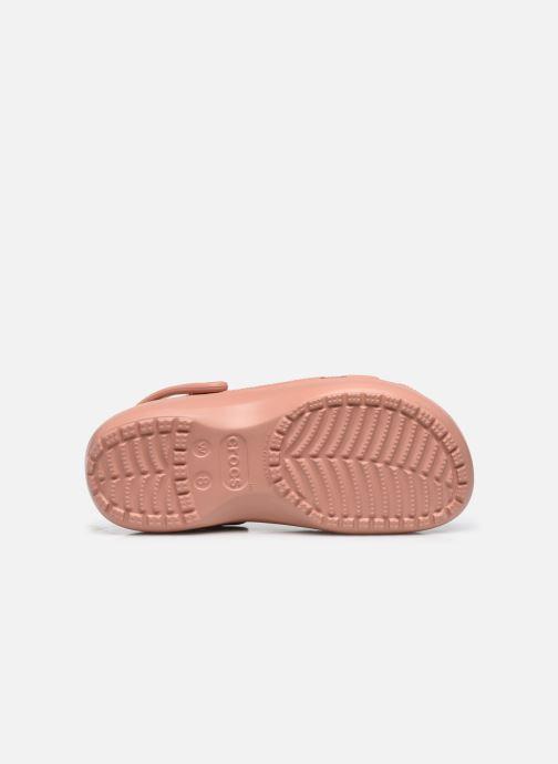 Clogs & Pantoletten Crocs Classic Platform Clog W rosa ansicht von oben