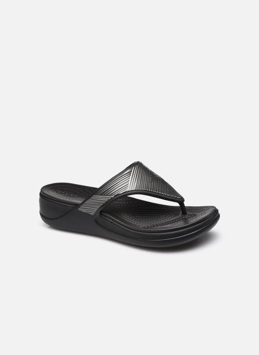 Slippers Crocs Crocs Monterey Metallic WgFpW Zwart detail