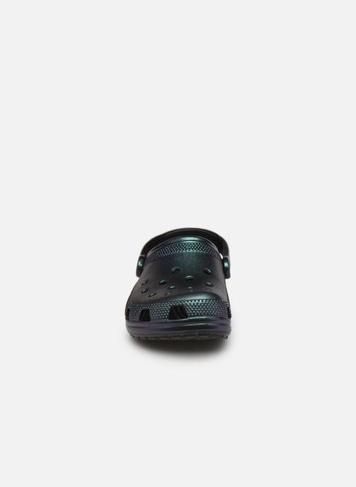 Clogs & Pantoletten Crocs Classic Prismatic Clog schwarz schuhe getragen