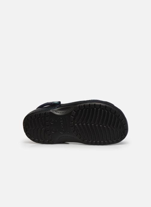 Clogs & Pantoletten Crocs Classic Prismatic Clog schwarz ansicht von oben