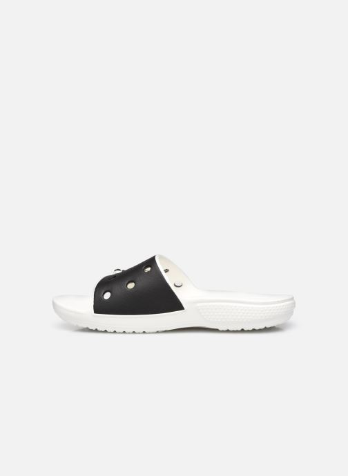 Wedges Crocs Classic Crocs Colorblock Slide Zwart voorkant
