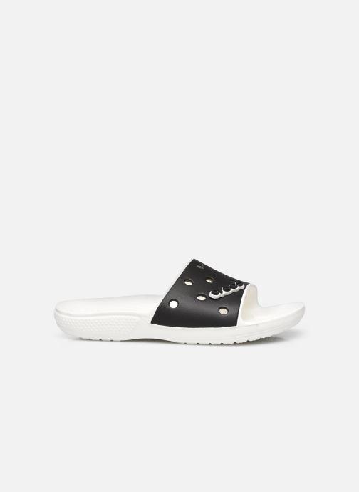 Wedges Crocs Classic Crocs Colorblock Slide Zwart achterkant