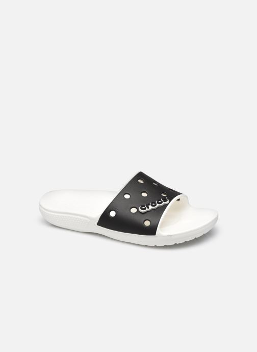 Wedges Crocs Classic Crocs Colorblock Slide Zwart detail