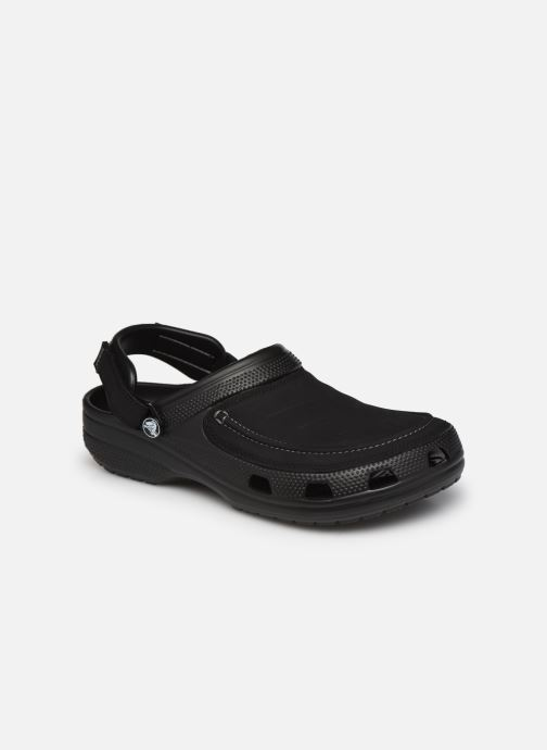 Sandales et nu-pieds Crocs Yukon Vista II Clog M Noir vue détail/paire