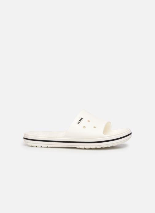 Sandalen Crocs Crocband III Slide weiß ansicht von hinten