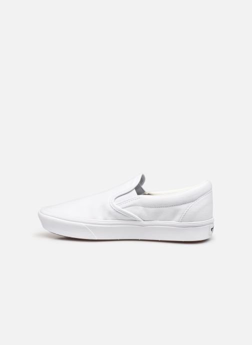 Baskets Vans UA ComfyCush Slip-On W Blanc vue face