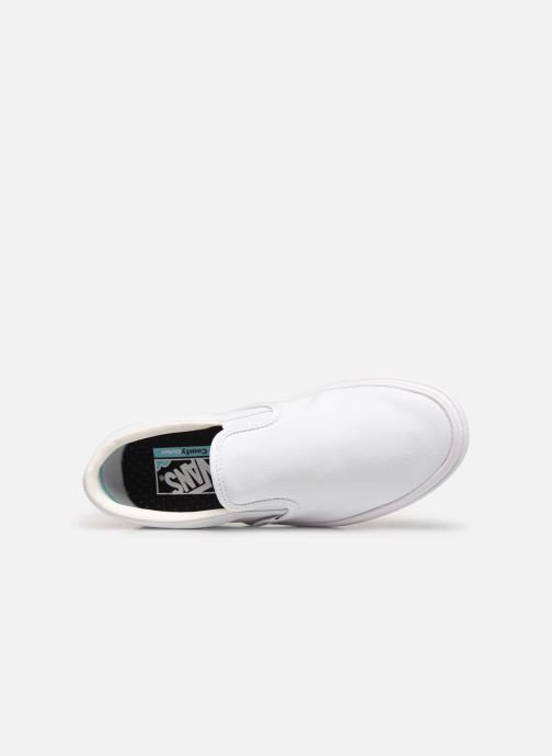 Baskets Vans UA ComfyCush Slip-On W Blanc vue gauche