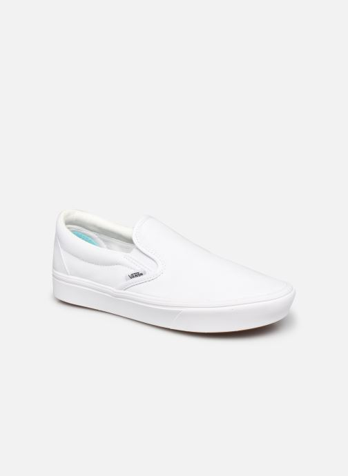 Baskets Vans UA ComfyCush Slip-On W Blanc vue détail/paire