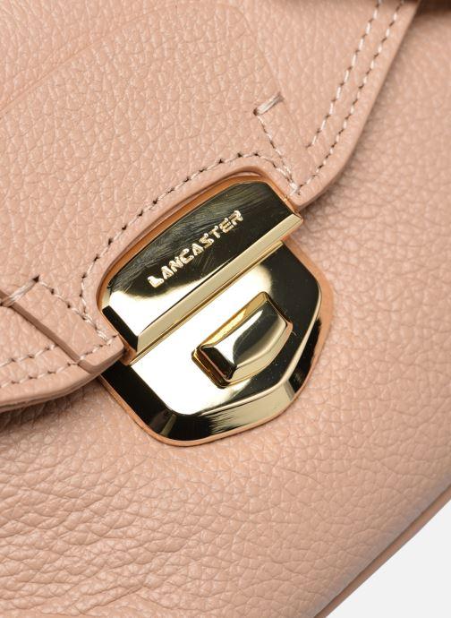 Handtaschen Lancaster Trotteur Foulonne Milano beige ansicht von links