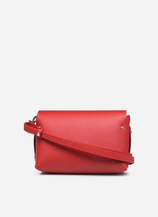 Handtaschen Lancaster Trotteur City Flore rot ansicht von vorne