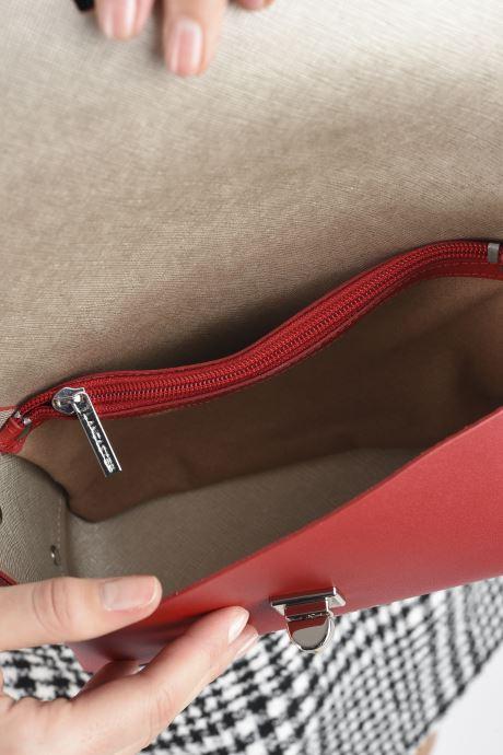 Handtaschen Lancaster Trotteur City Flore rot ansicht von hinten