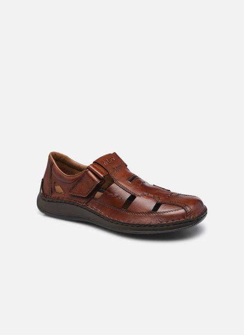 Sandales et nu-pieds Rieker Polo Marron vue détail/paire