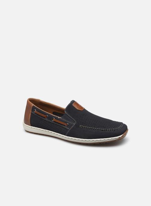 Chaussures à lacets Rieker Henri Bleu vue détail/paire