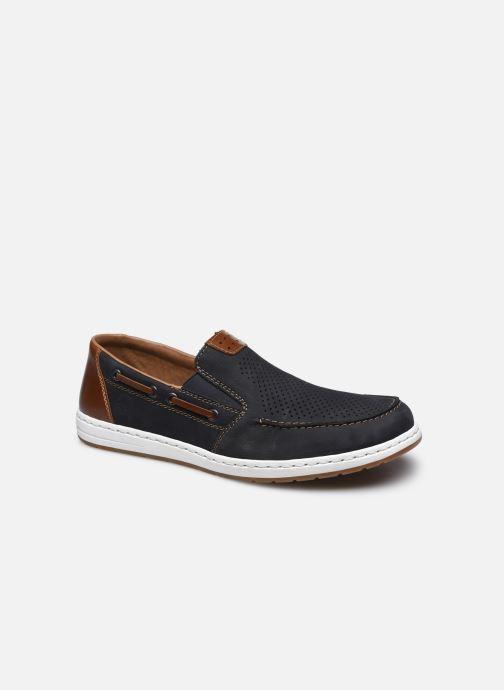 Chaussures à lacets Rieker Romain Bleu vue détail/paire