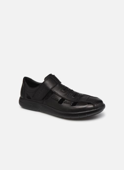 Sandales et nu-pieds Rieker Alberto Noir vue détail/paire