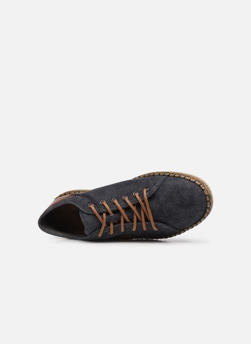 Sneakers Rieker Denis Azzurro immagine sinistra