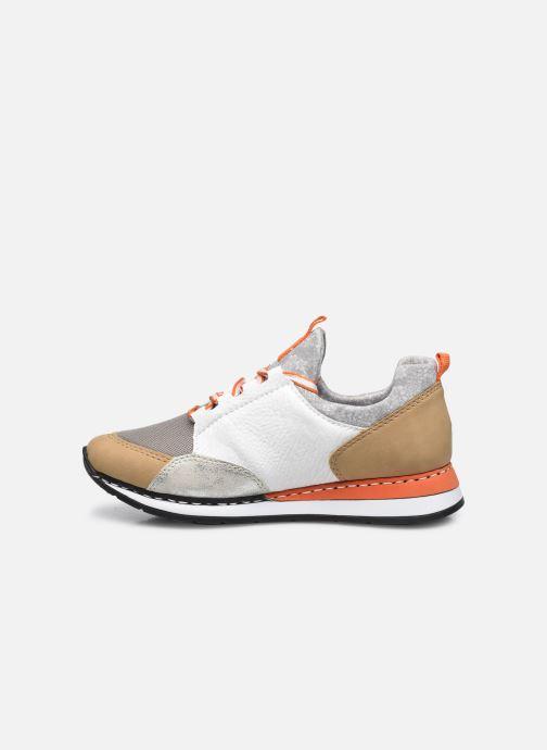 Sneakers Rieker Nairobi Zilver voorkant
