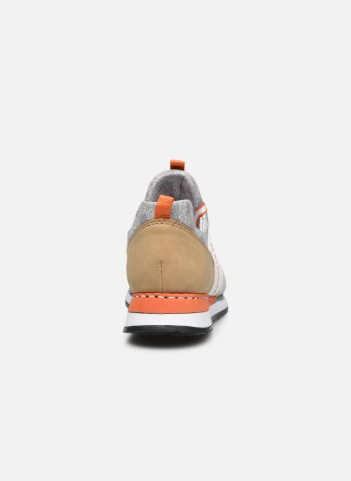 Sneakers Rieker Nairobi Zilver rechts