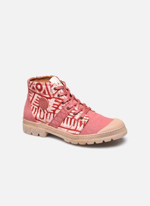 Sneakers Pataugas AUTHENTIQUE COLLAB. PANAFRICA AUTHEN/PANA F2G Roze detail