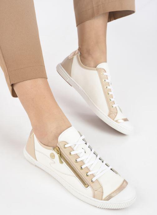Sneakers Pataugas BAHIA F2G N Wit onder