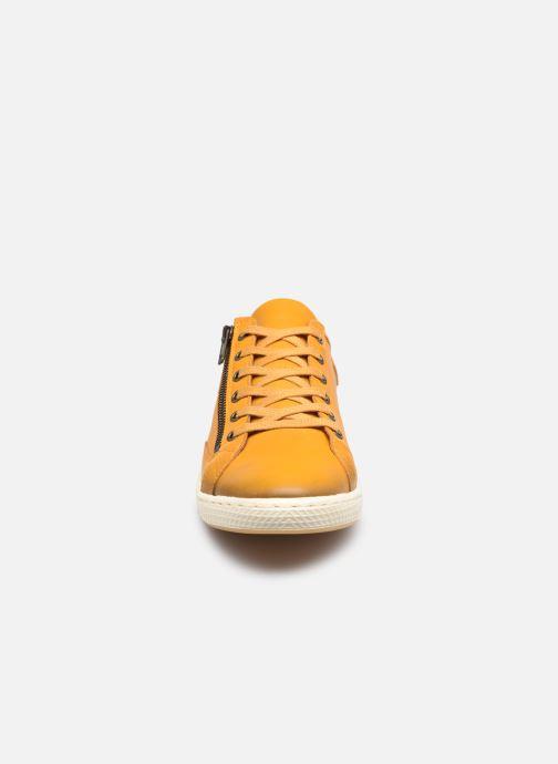 Baskets Pataugas JESTER/H F2G N Orange vue portées chaussures