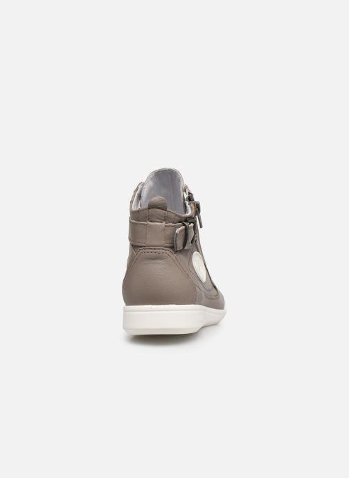 Sneaker Pataugas PALME/N F2E N braun ansicht von rechts