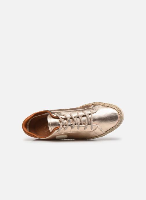 Sneaker Pataugas PAM/M F2E N gold/bronze ansicht von links