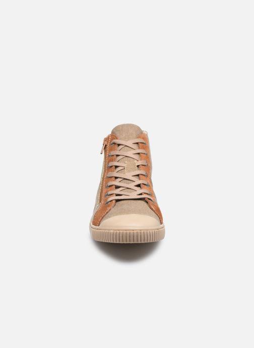 Sneaker Pataugas BOX H2G N braun schuhe getragen