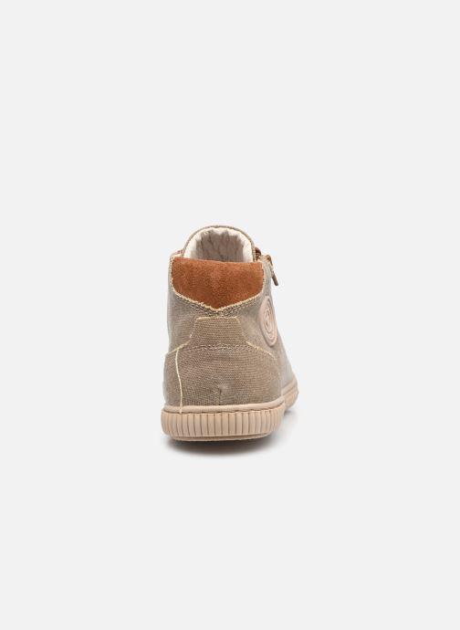 Sneaker Pataugas BOX H2G N braun ansicht von rechts