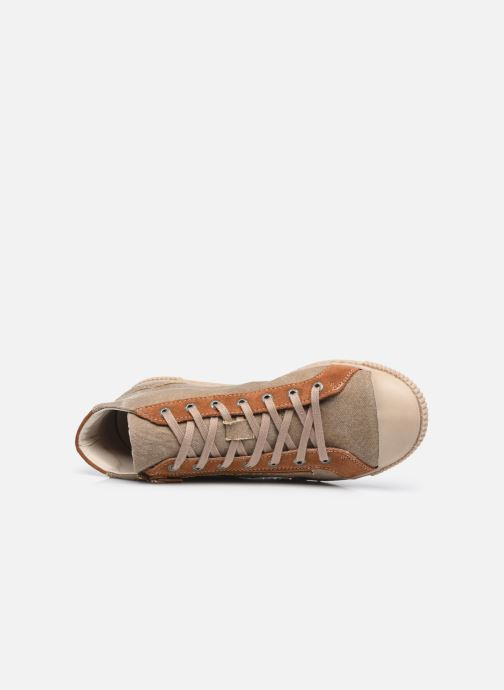 Sneaker Pataugas BOX H2G N braun ansicht von links