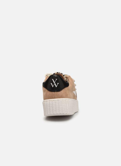 Sneakers Vanessa Wu BK2206 Beige rechts