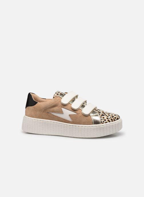 Sneakers Vanessa Wu BK2206 Beige achterkant