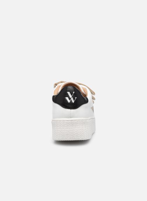 Sneaker Vanessa Wu BK2229 beige ansicht von rechts