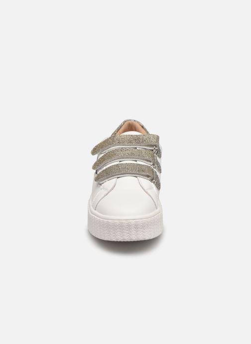 Sneakers Vanessa Wu BK2231 Argento modello indossato
