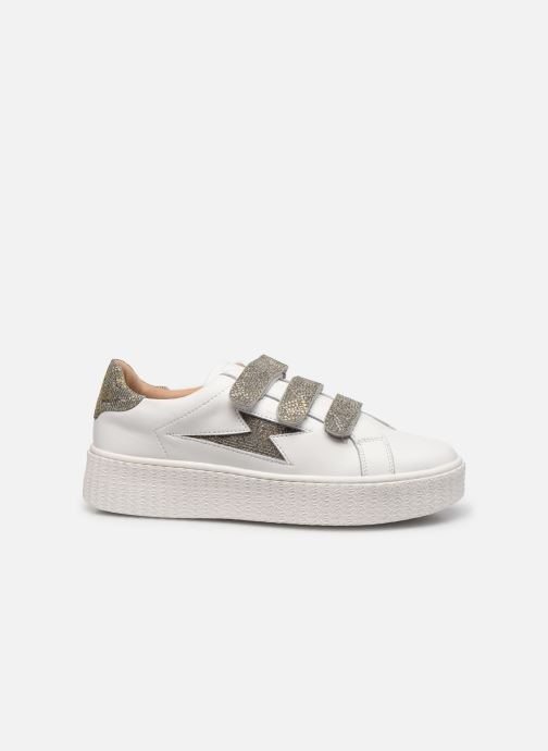 Sneakers Vanessa Wu BK2231 Zilver achterkant