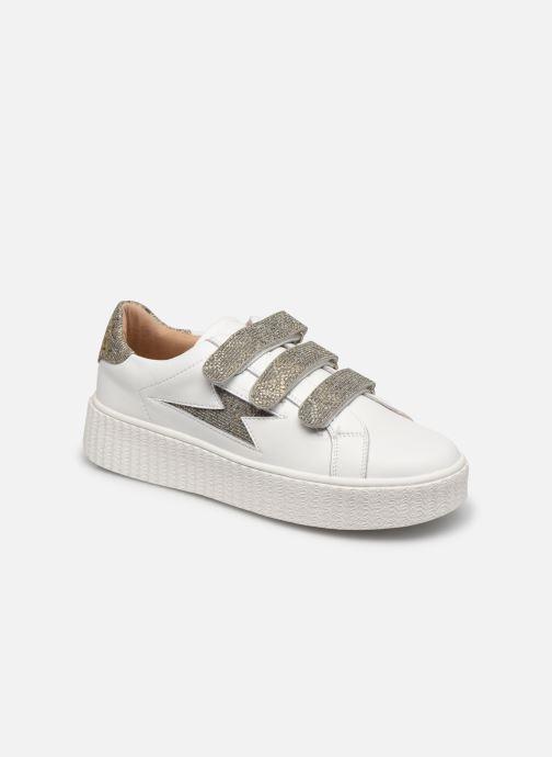 Sneakers Vanessa Wu BK2231 Zilver detail