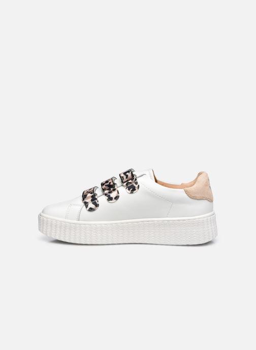 Sneakers Vanessa Wu BK2239 Beige voorkant