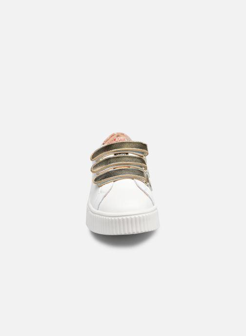 Baskets Vanessa Wu BK2259 Or et bronze vue portées chaussures
