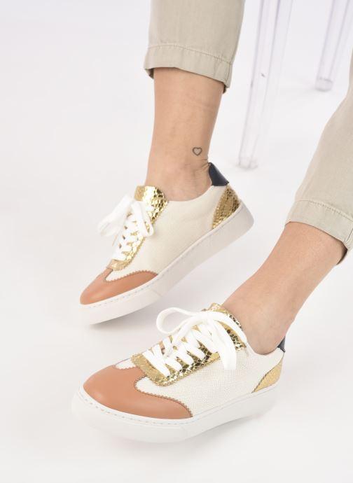 Sneakers Vanessa Wu BK2240 Bruin onder