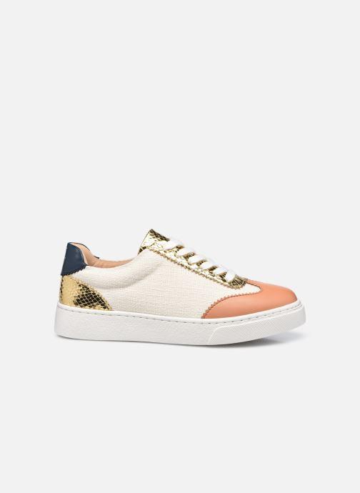 Sneakers Vanessa Wu BK2240 Bruin achterkant