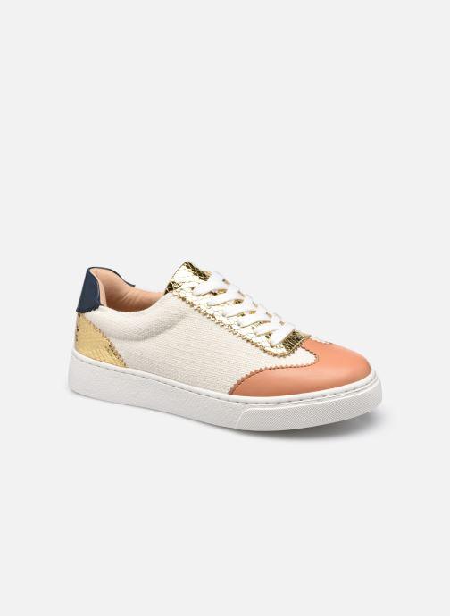 Sneakers Vanessa Wu BK2240 Bruin detail