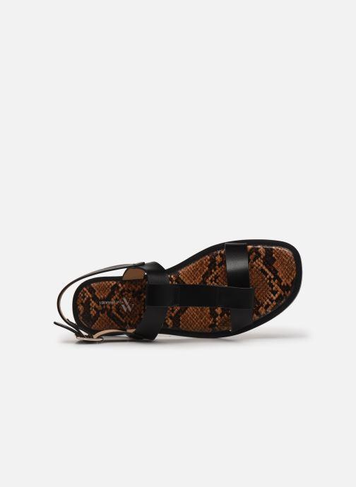 Sandali e scarpe aperte Vanessa Wu SD2235 Nero immagine sinistra