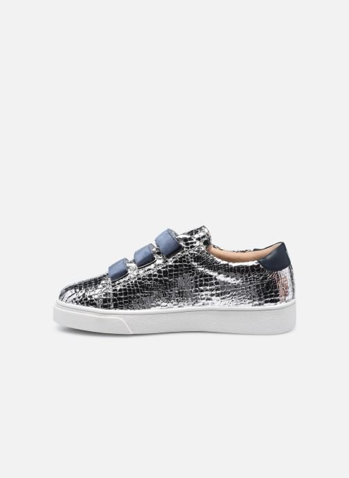 Sneakers Vanessa Wu BK2067 Argento immagine frontale
