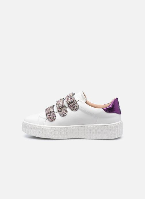 Sneaker Vanessa Wu BK2146 weiß ansicht von vorne