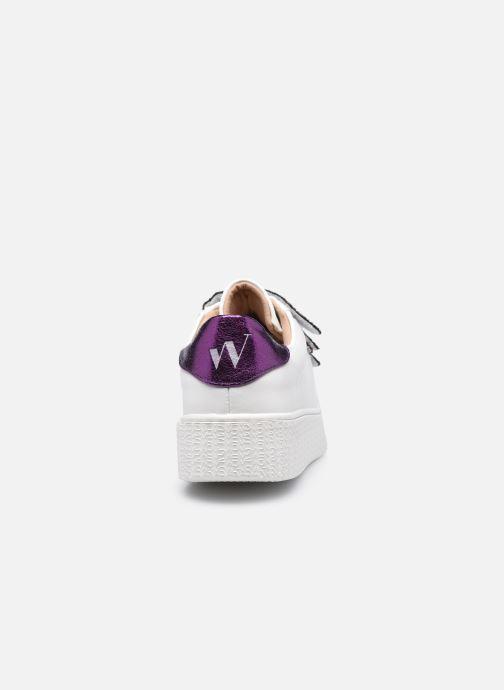 Sneaker Vanessa Wu BK2146 weiß ansicht von rechts