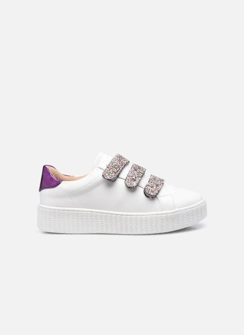 Sneaker Vanessa Wu BK2146 weiß ansicht von hinten