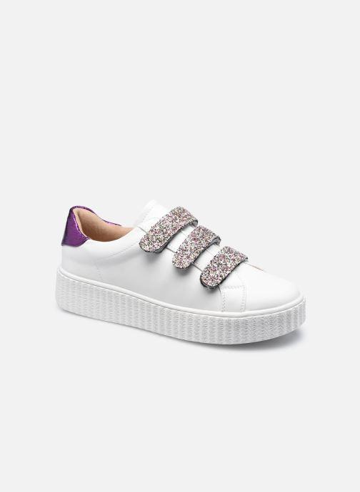 Sneaker Vanessa Wu BK2146 weiß detaillierte ansicht/modell