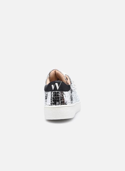 Sneakers Vanessa Wu BK2148 Argento immagine destra