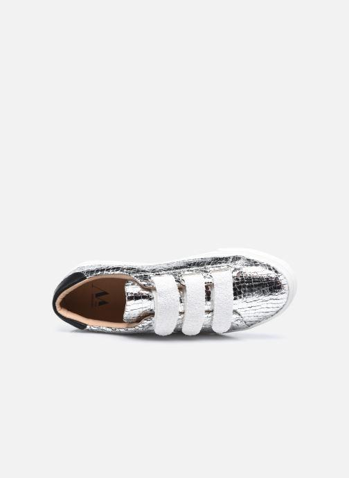Sneakers Vanessa Wu BK2148 Zilver links